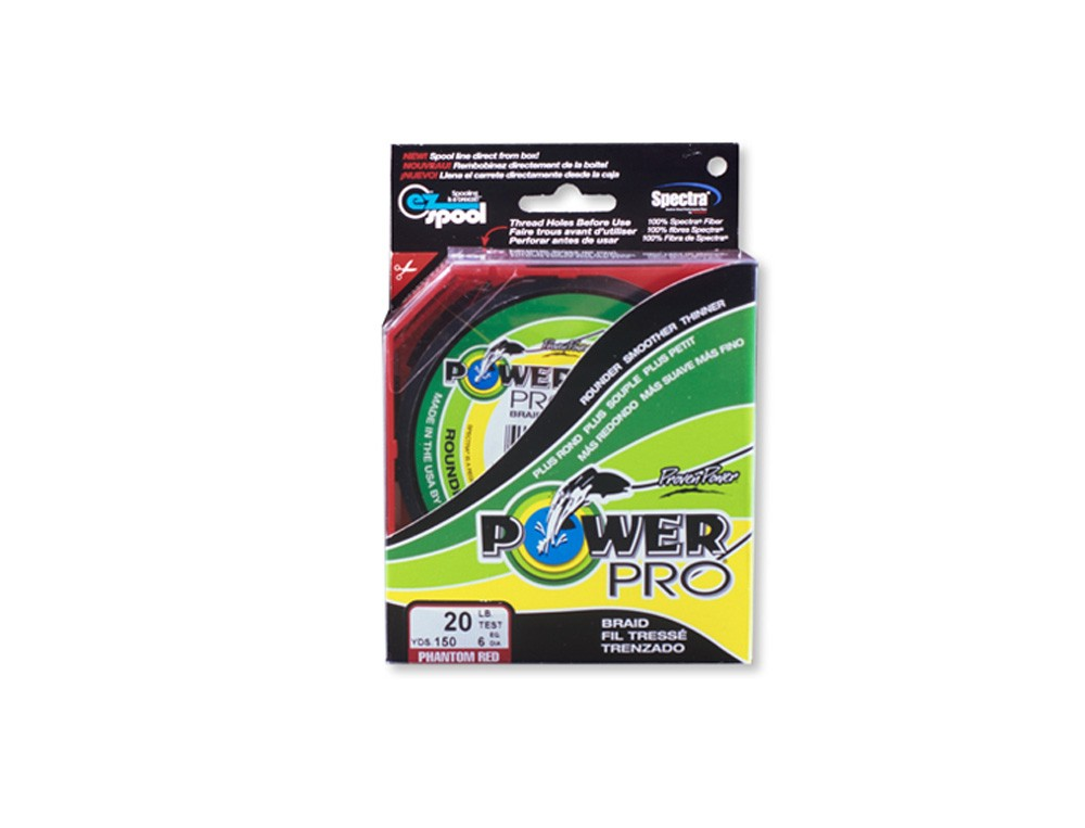 TRESSE POWER PRO ROUGE 455M 0.32