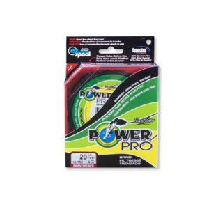 TRESSE POWER PRO ROUGE 455M 0.46