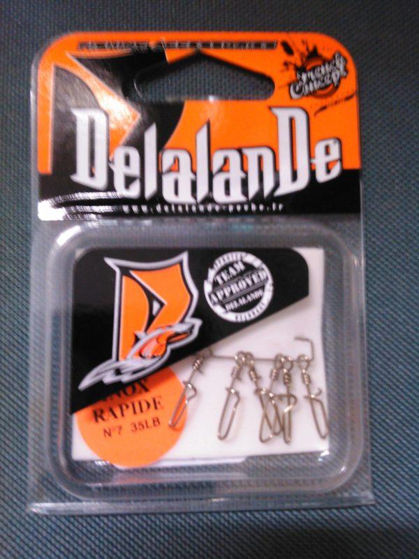 agrafe inox rapide Delalande n7 35lbs (6pieces)