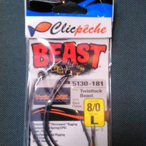 texan owner twistlock 8/0 (3pieces)