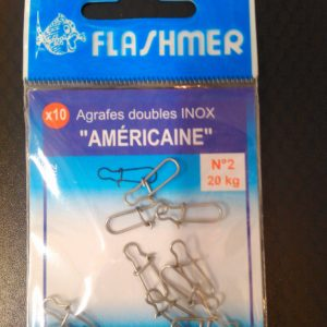 agrafes americaines flashmer n 2