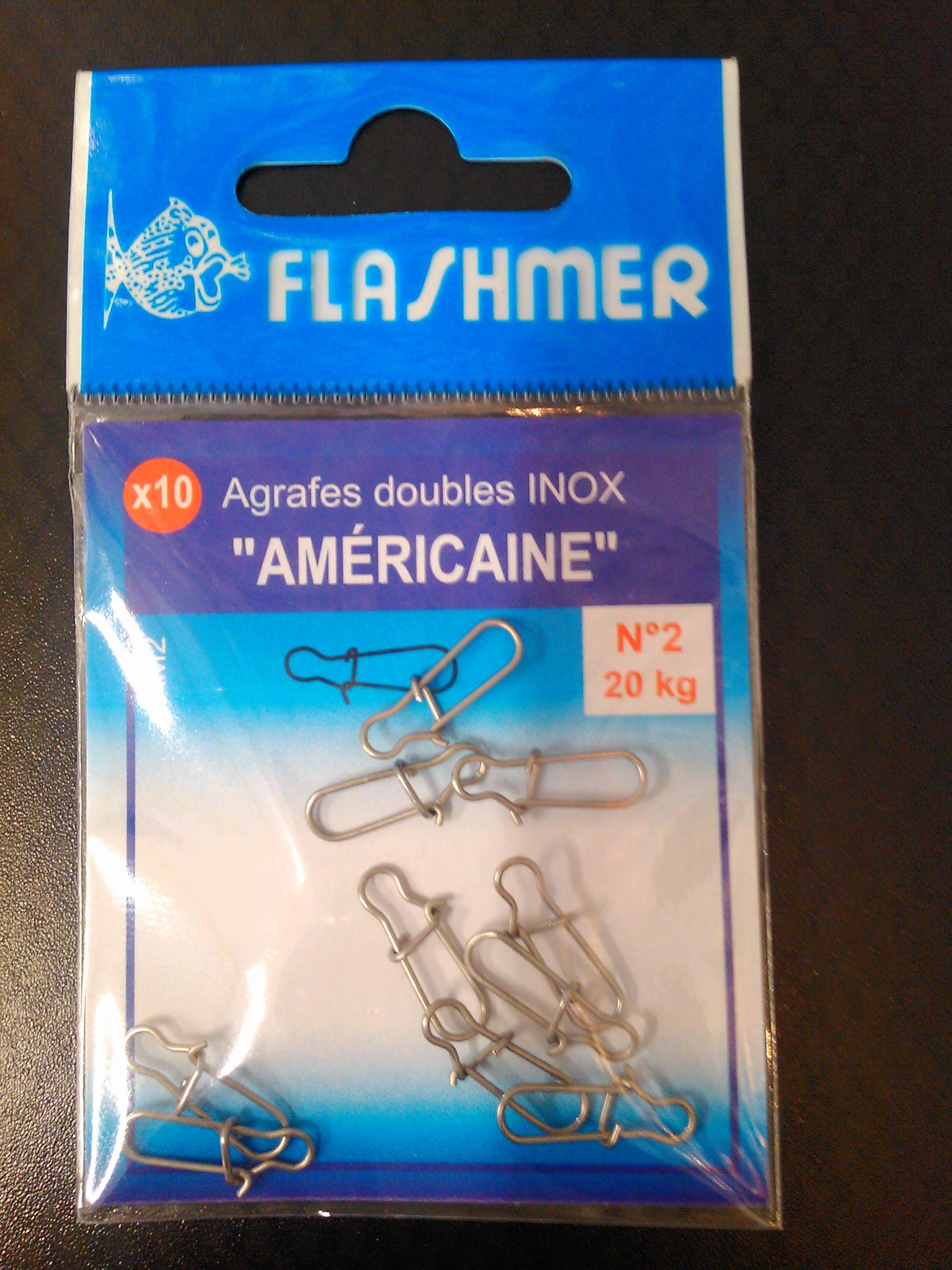 agrafes americaines flashmer n 3