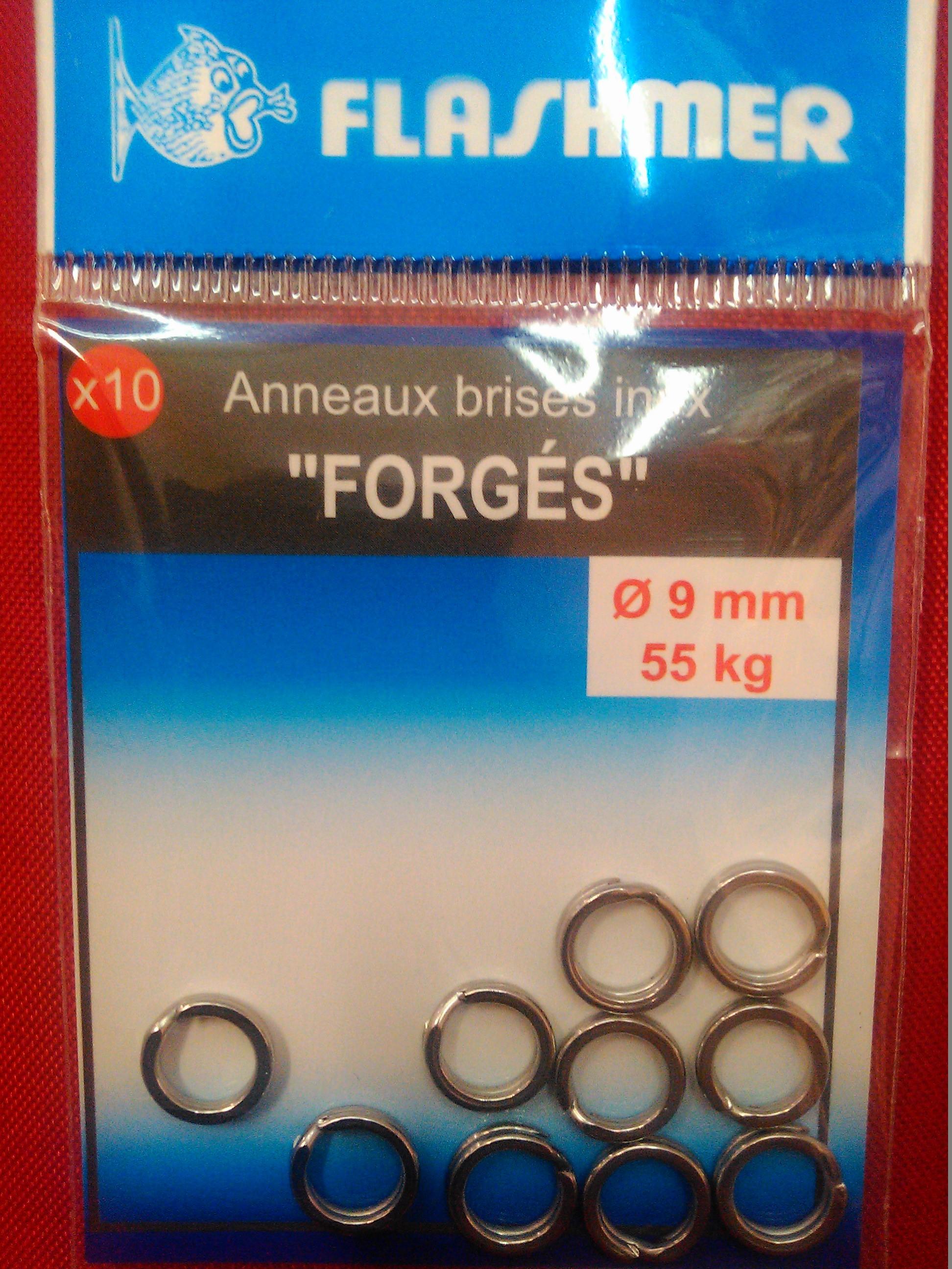 anneaux brisés inox forgés 6