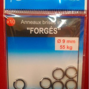anneaux brisés inox forgés 7